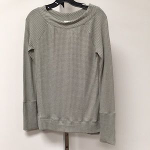 NWT Anthropologie Deletta Long Sleeve Top Moss S